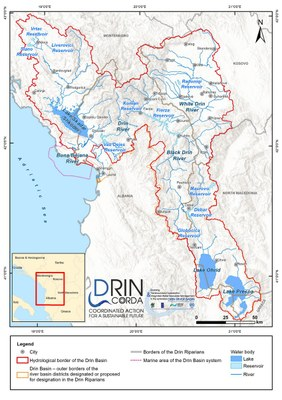 1_1 Map of the Drin Basin