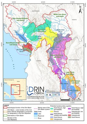 1_11 Potential transboundary aquifers in the Drin Basin