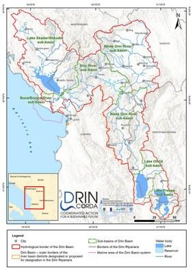 1_2 Sub-basins in the Drin Basin