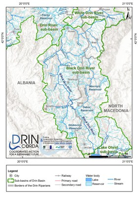 1_5 Map of the Black Drin River sub-basin
