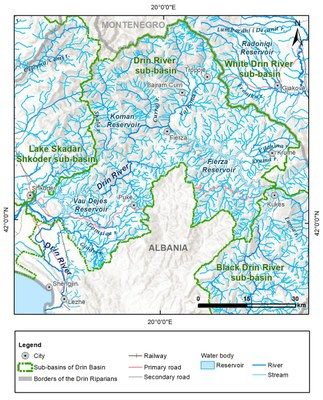 1_9 Map of the Drin River sub_basin