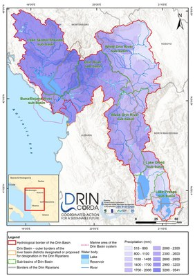 2_1 Precipitation in the Drin Basin