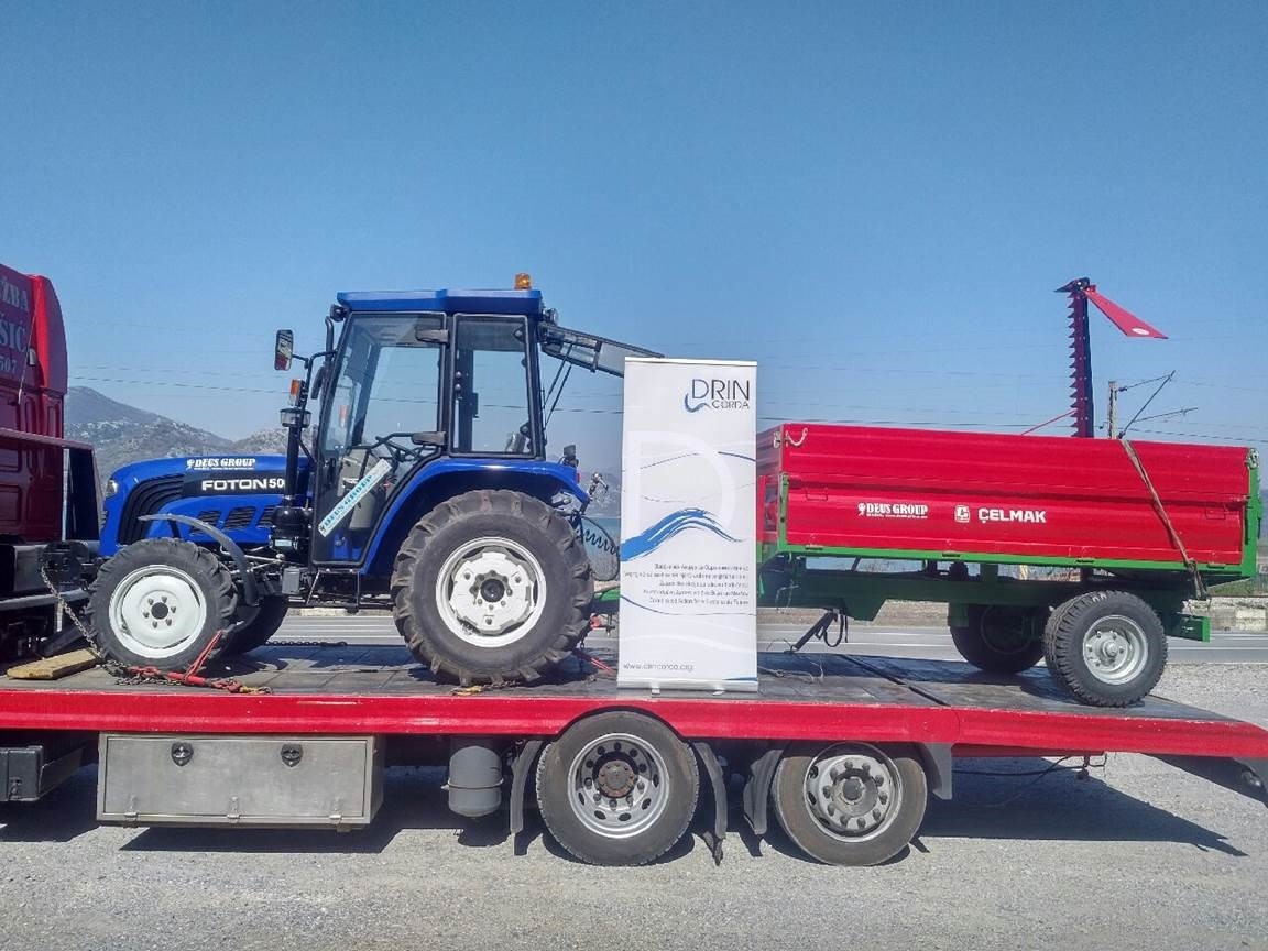 Biomass Pilot Activity in National Park of Skadar Lake reaches Second Phase following equipment donation