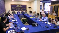 GEF Drin Project Team presents Project highlights to the Albanian Water Resources Management Agency