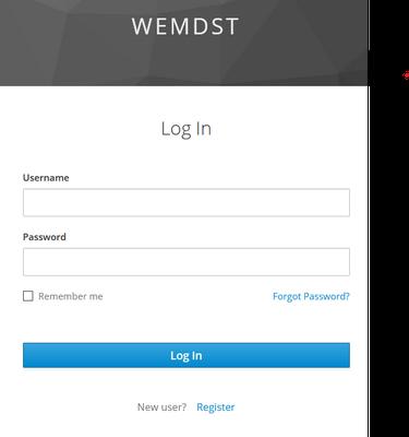 WEMDST login