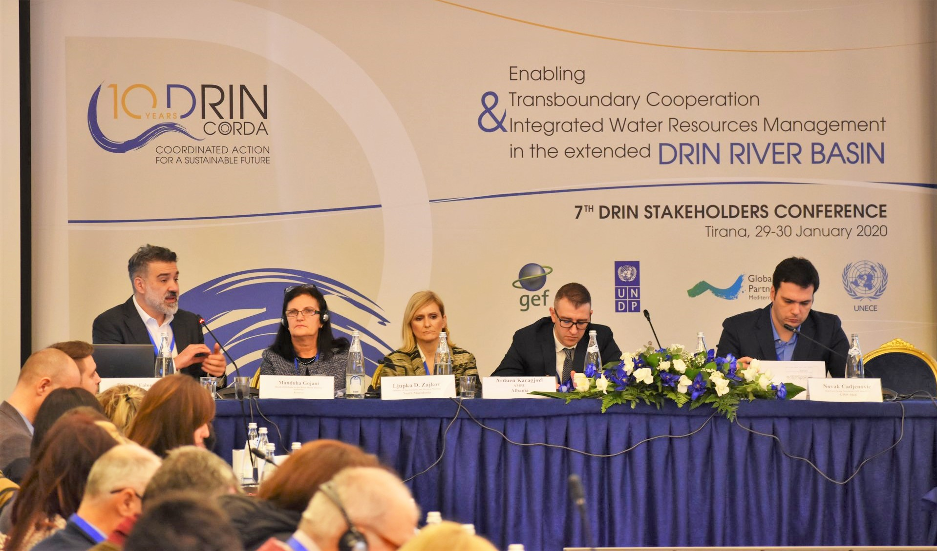 Celebrating 10 years of Drin collaboration: stakeholders discuss drought management in the Drin Basin