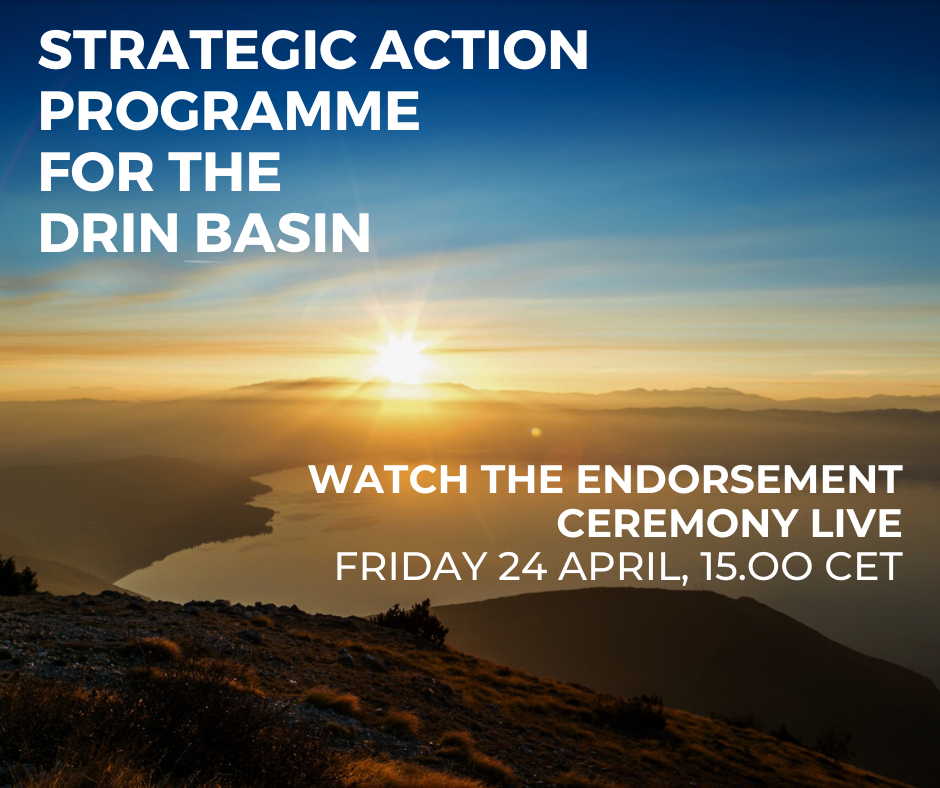 Ministers and high-level representatives to endorse Drin Strategic Action Programme