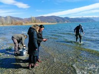 Monitoring one of Europe's oldest lakes