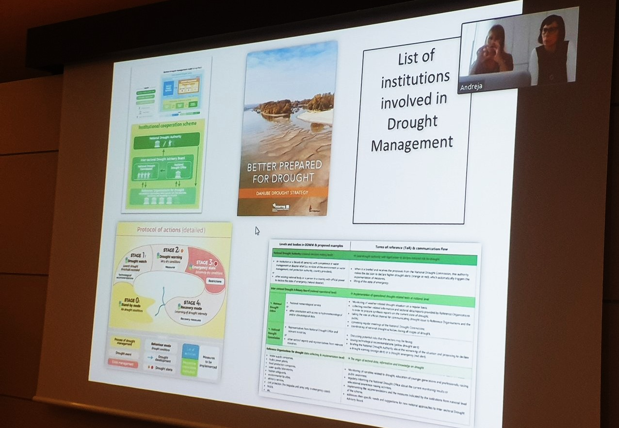 Online Training on Integrated Drought Management for the Drin River Basin